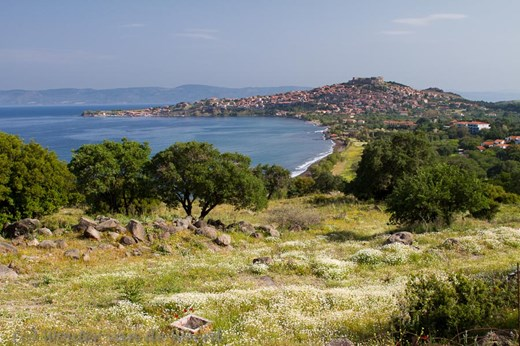 2012-05-01 - Uitzicht op Mithymna<br/>Mithymna (Lesbos) - Griekenland<br/>Canon EOS 7D - 24 mm - f/11.0, 1/60 sec, ISO 200