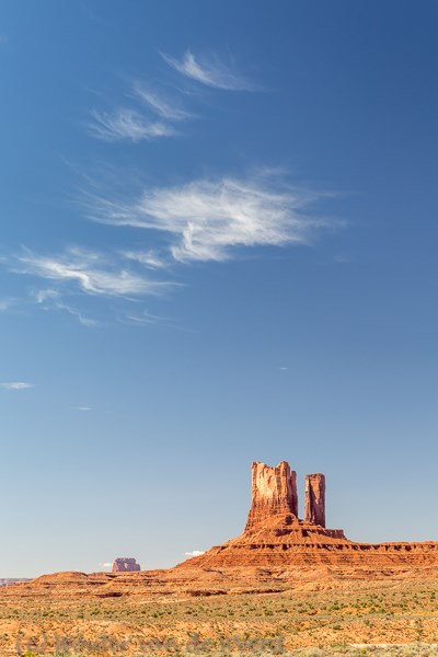 2014-07-10 - Iconisch landschap<br/>Monument Valley - Verenigde Staten<br/>Canon EOS 5D Mark III - 65 mm - f/8.0, 1/125 sec, ISO 200